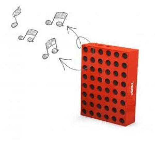 Office Blocks Speaker - couleurs pantone