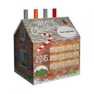 Pot à crayons pop-up Maison
