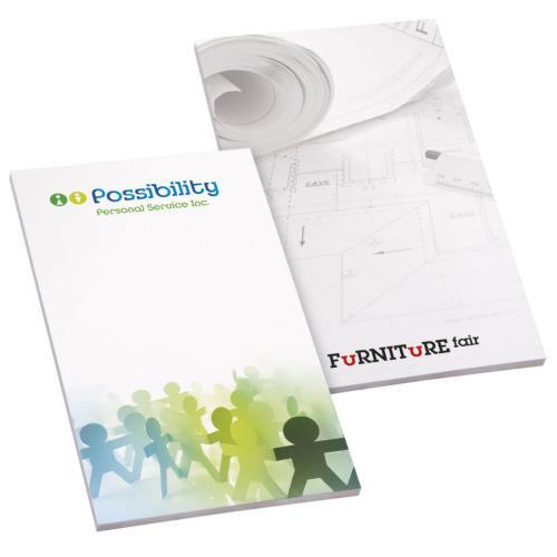 BIC® 96 mm x 152 mm 20 Sheet Non-Adhesive Scratch Pad - blanc