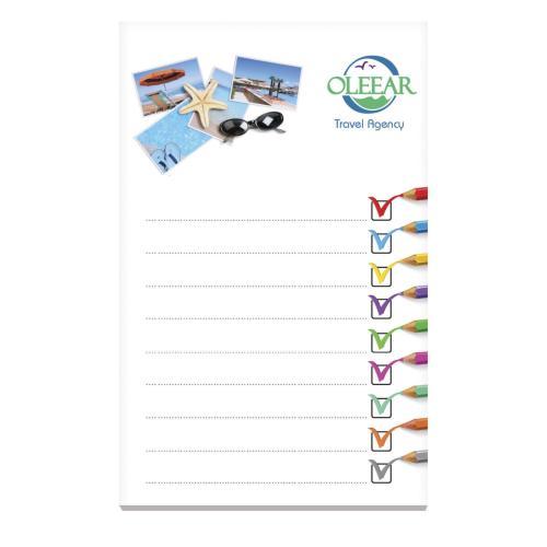 BIC® 75 mm x 127 mm 20 Sheet Non-Adhesive Scratch Pad - blanc