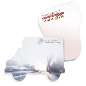 BIC® 101 mm x 75 mm 50 Sheet Adhesive Die Cut Notepads
