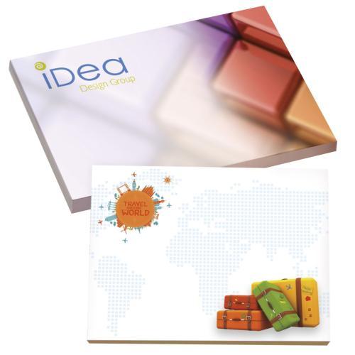 BIC® 101 mm x 75 mm 50 Sheet Adhesive Notepads Ecolutions® - blanc