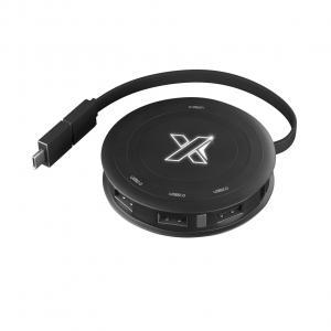 chargeur induction 4 hub USB 2.0 - Stock