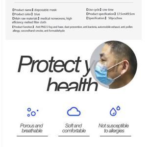 Masque de protection 3 plis,  jettable