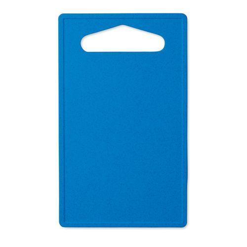 Planche à découper bambou / PP - bleu