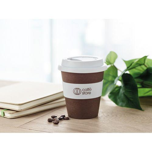 Gobelet  en café et PP - blanc