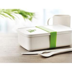 Boîte à lunch bambou/PLA maïs