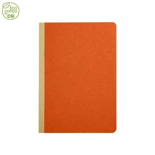 Cahier de notes GOCAR12 - orange