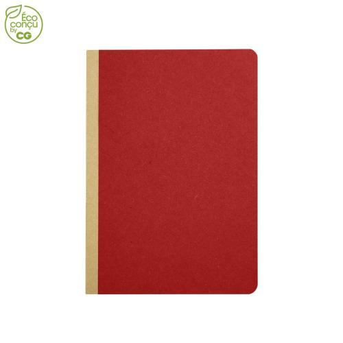 Cahier de notes GOCAR12 - rouge