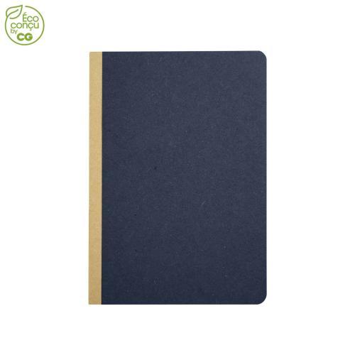 Cahier de notes GOCAR12 - bleu marine