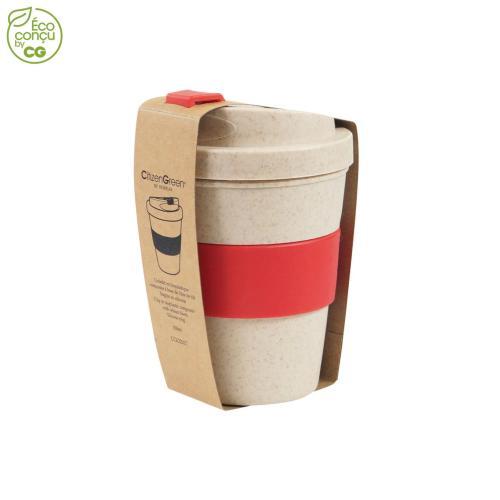 Mug anti-fuite GOBME - rouge