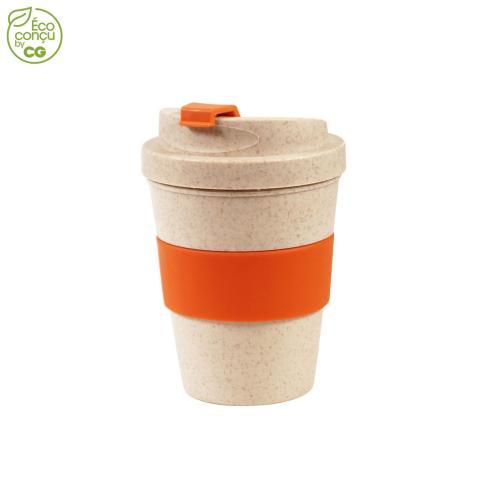Mug anti-fuite GOBME - orange