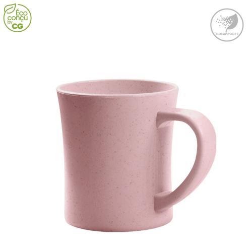Mug 280 ml ENOUGH-T - rose