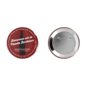 BADGE BOUTON - MADE IN FRANCE