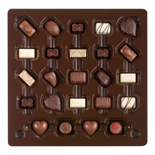 Boîte 24 chocolats assortis -