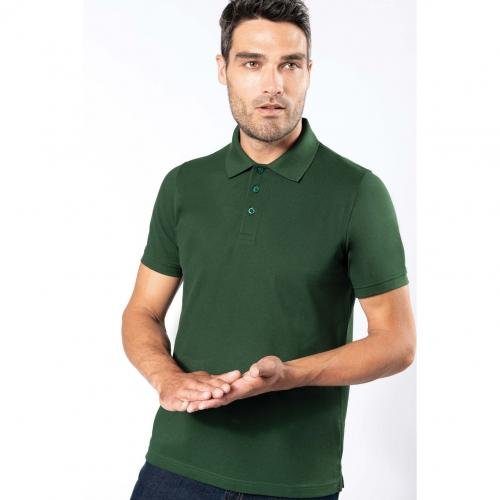 Polo manches courtes homme - rouge