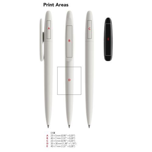 Prodir DS5 Regeneration Pen - rouge