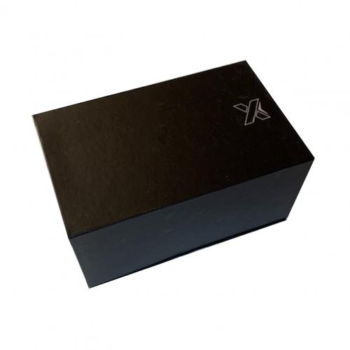 speaker double ring 2 x 3W - noir - logo lumineux blanc - Import - noir