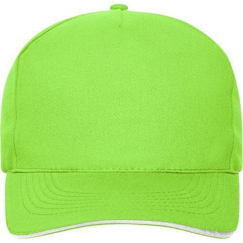 Casquette bio - vert citron