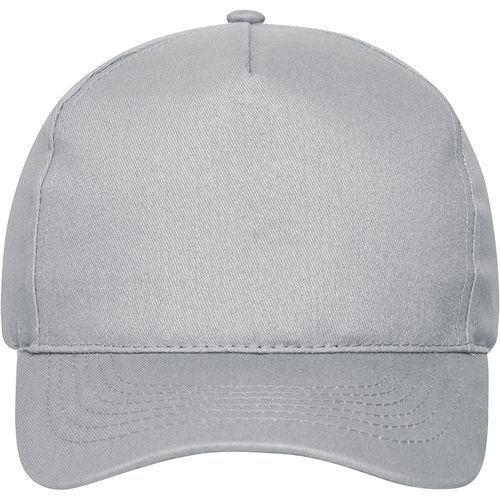 Casquette bio - gris clair