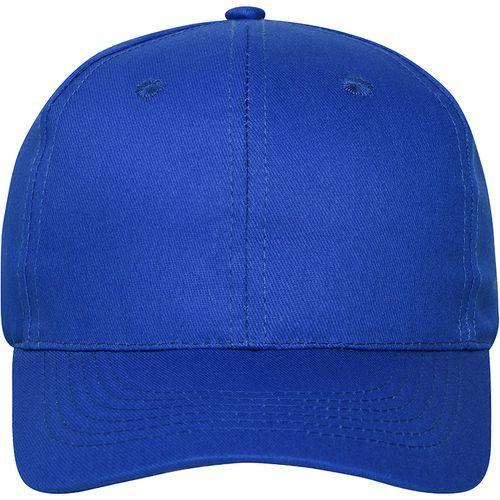 Casquette bio - bleu royal