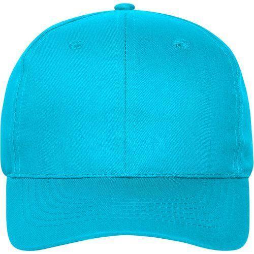 Casquette bio - turquoise
