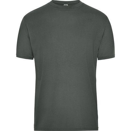 Tee-shirt workwear Bio Homme - gris foncé