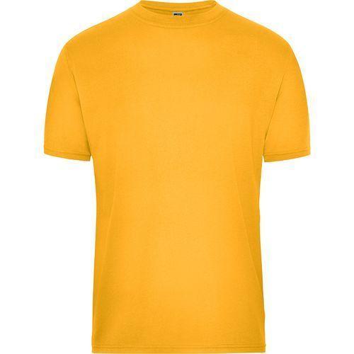 Tee-shirt workwear Bio Homme - jaune doré