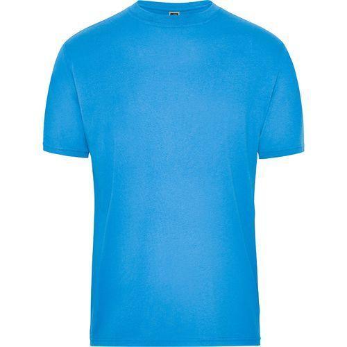 Tee-shirt workwear Bio Homme - bleu aqua