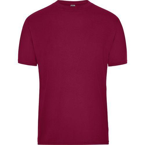 Tee-shirt workwear Bio Homme - lie de vin