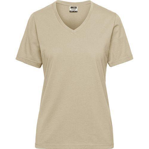 Tee-shirt workwear Bio Femme - stone