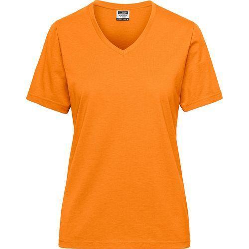 Tee-shirt workwear Bio Femme - orange