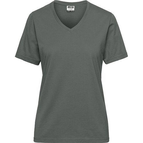 Tee-shirt workwear Bio Femme - gris foncé