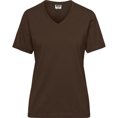 Tee-shirt workwear Bio Femme - marron