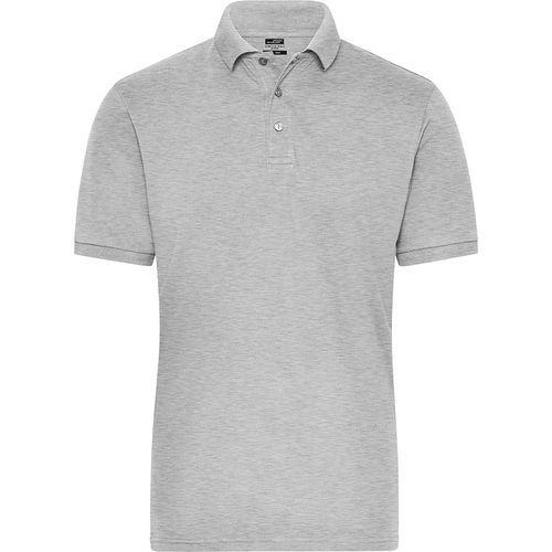 Polo Workwear Bio Homme - gris chiné