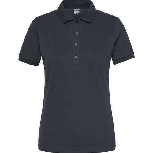 Polo Workwear Bio Femme - carbone