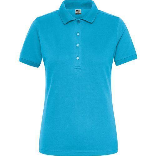 Polo Workwear Bio Femme - turquoise