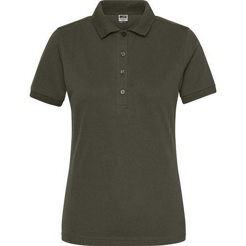 Polo Workwear Bio Femme - olive