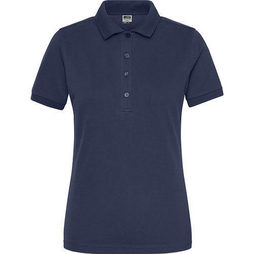 Polo Workwear Bio Femme - bleu marine
