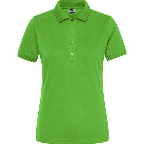 Polo Workwear Bio Femme - vert citron