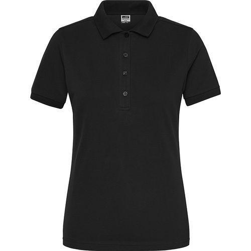 Polo Workwear Bio Femme - noir