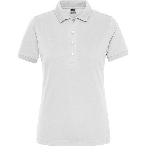 Polo Workwear Bio Femme - blanc