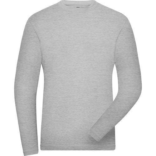 Tee-shirt workwear Bio Homme - gris chiné