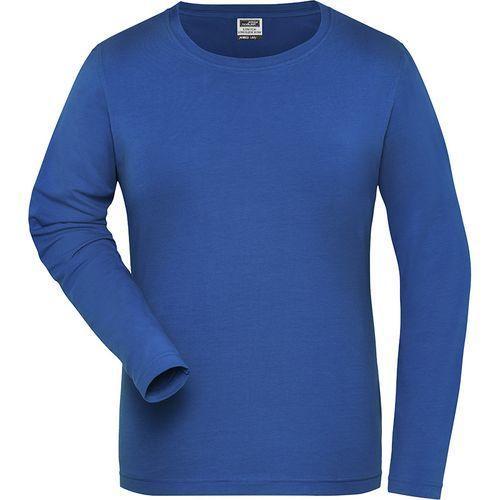 Tee-shirt workwear Bio Femme - bleu royal