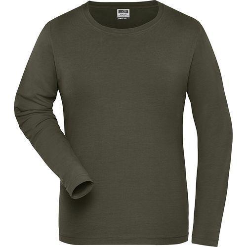 Tee-shirt workwear Bio Femme - olive
