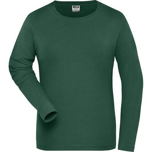 Tee-shirt workwear Bio Femme - vert foncé