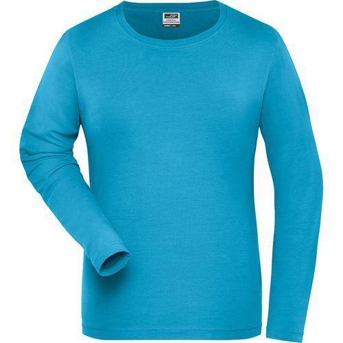 Tee-shirt workwear Bio Femme - turquoise