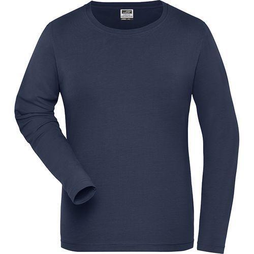 Tee-shirt workwear Bio Femme - bleu marine