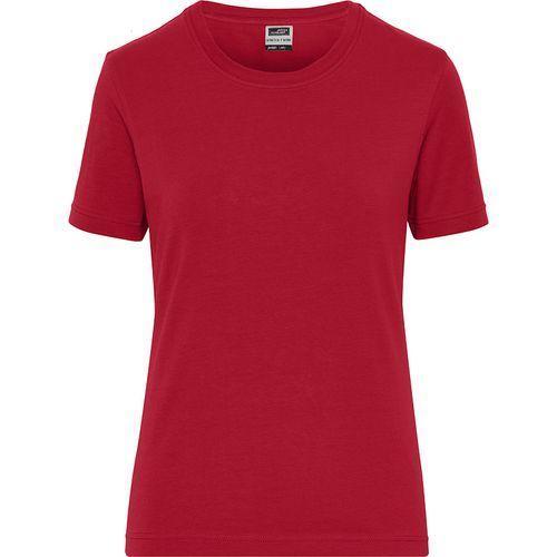 Tee-shirt workwear Bio Femme - rouge