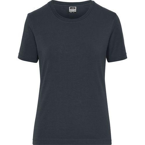 Tee-shirt workwear Bio Femme - carbone